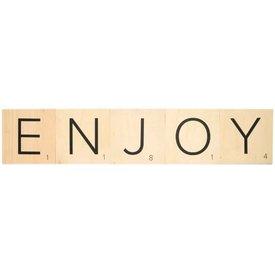 """vtwonen Scrabble Buchstaben """"Enjoy"""""""