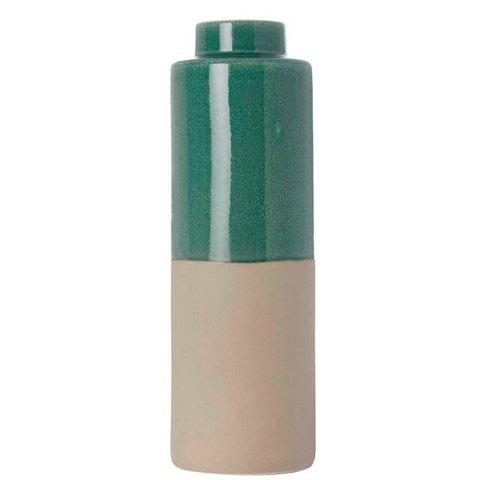 """Vase """"Two Colours"""" Petrol von vtwonen"""
