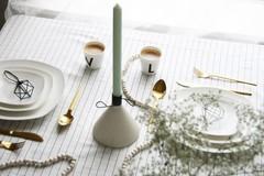 Kerzenständer im skandinavischen Design