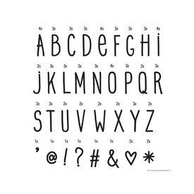 """A little lovely Company Buchstaben-Set """"Handschrift"""""""