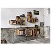 """Design-Bücherregal """"SJ Bookcase Groß"""" von We Do Wood"""