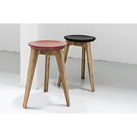 We Do Wood Button Stool