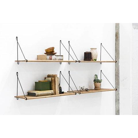 "Design-Wandregal ""Loop Shelf"" von We Do Wood"