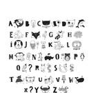 "A little lovely Company Buchstaben-Set ""Kids ABC"" von A little lovely Company"