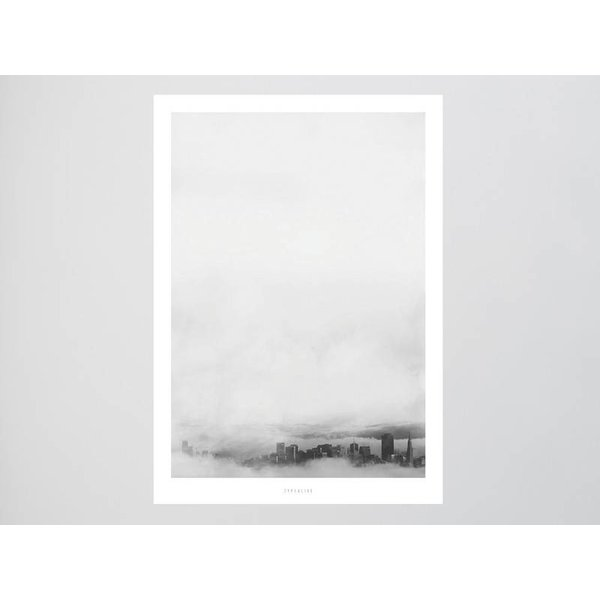 """typealive Poster """"Landscape No. 22"""" von typealive"""