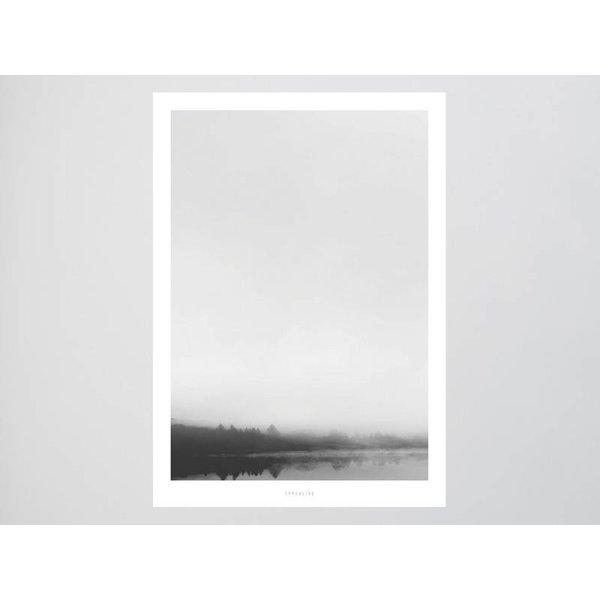 """typealive Poster """"Landscape No. 33"""" von typealive"""