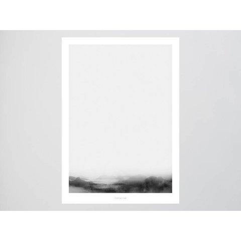 """Poster """"Landscape No. 36"""" von typealive"""