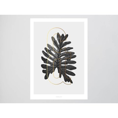 "Poster ""ABC Plants - &"" von typealive"