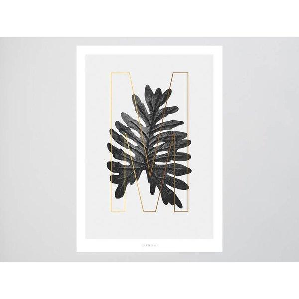 "typealive Poster ""ABC Plants - M"" von typealive"