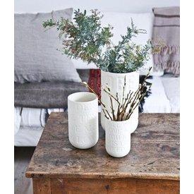 "Kähler Design Vase ""Love Song"" Kalkweiß"