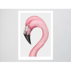 "typealive Poster ""Flamingo"" von typealive"