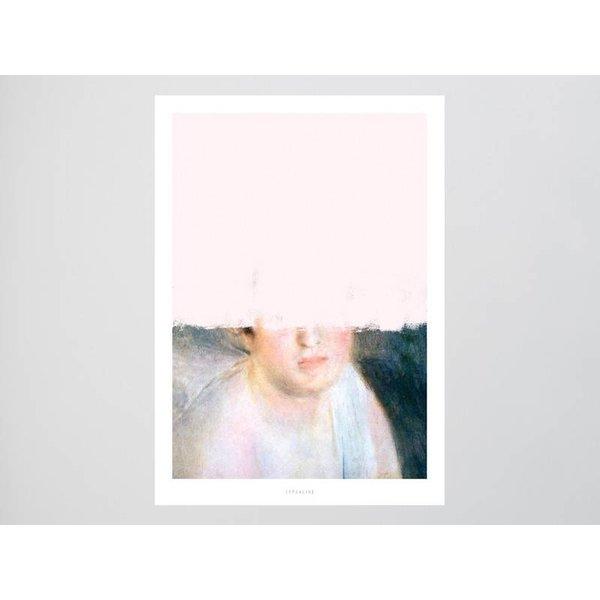 """typealive Poster """"Unfinished Renoir"""" von typealive"""