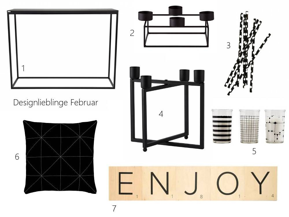 Designlieblinge im Monat Februar