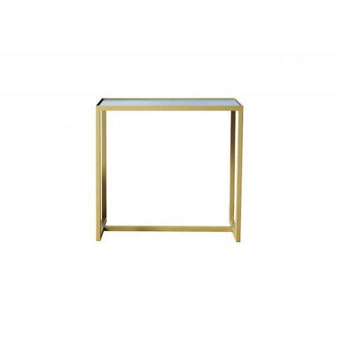 "Design-Beistelltisch ""ELAIS - gold/betongrau"" von Cheese Department"