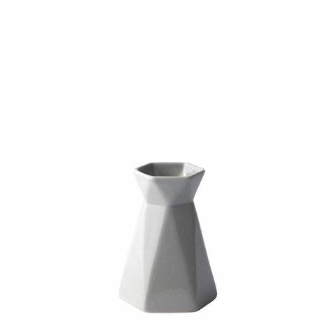 Vase Grau
