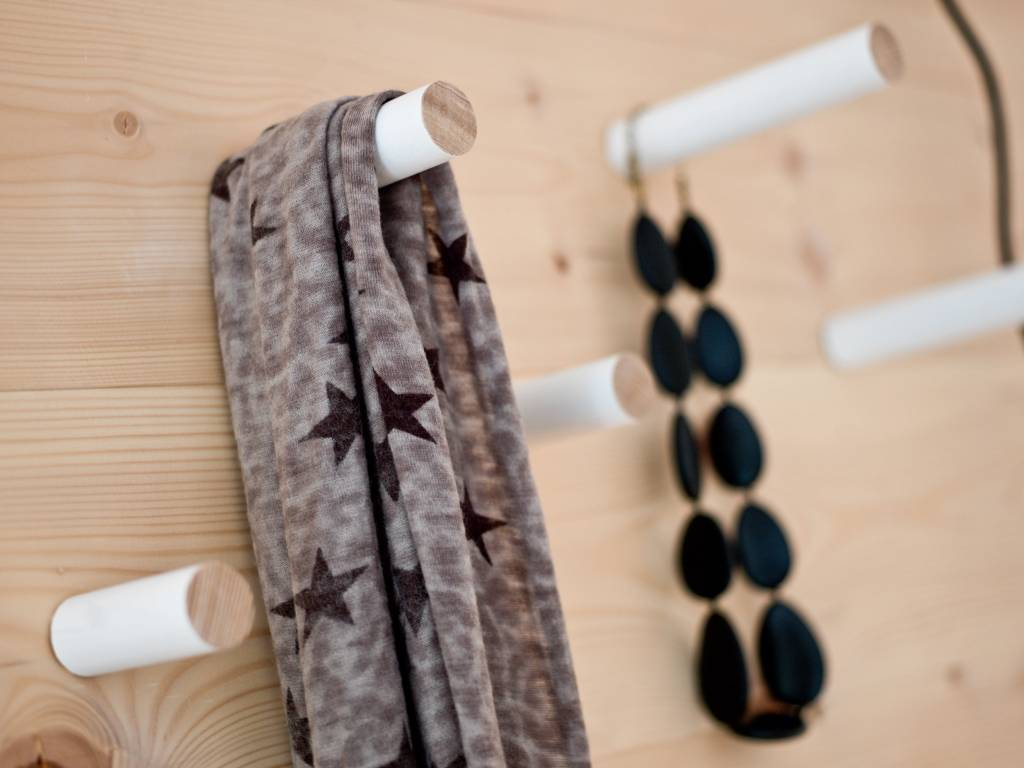 wandhaken stabs von kommod stilherz. Black Bedroom Furniture Sets. Home Design Ideas