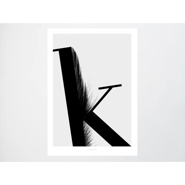 "typealive Poster ""ABC Flying Letters - K"" von typealive"