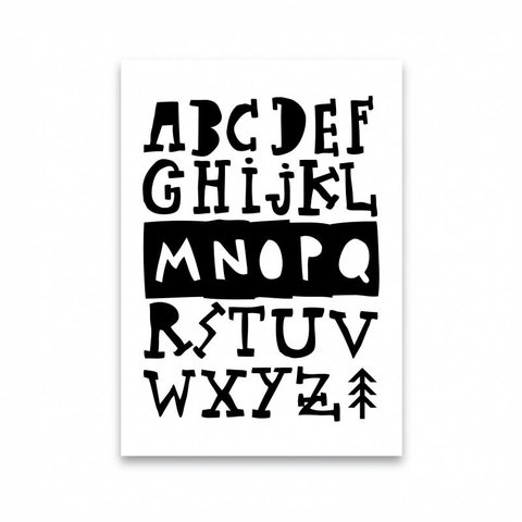 "Postkarte ""ABC"""
