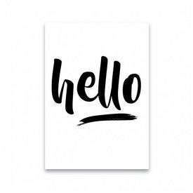 "Dots Lifestyle Postkarte ""HELLO"""