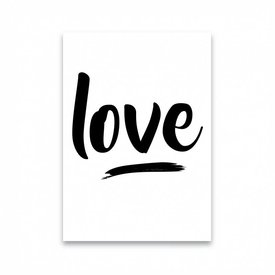 "Dots Lifestyle Postkarte ""LOVE"""