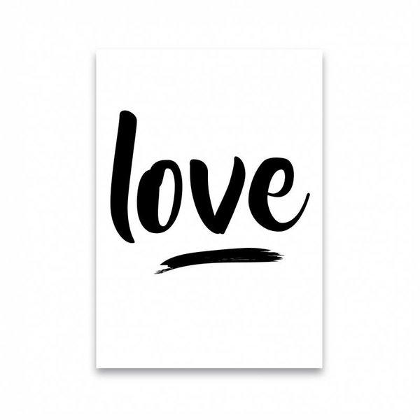 "Dots Lifestyle Postkarte ""LOVE"" von Dots Lifestyle"
