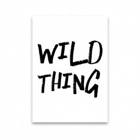 "Dots Lifestyle Postkarte ""WILD THING"""