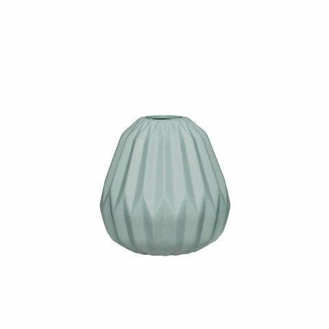 Vase Grün von Hübsch Interior