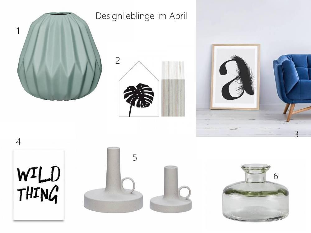 Designlieblinge im Monat April