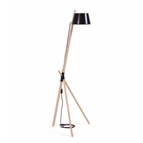 """Design-Stehlampe """"KA M"""" von Woodendot"""