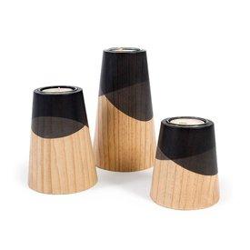"Woodendot Kerzenhalter-Set ""ETNA MINI"" von Woodendot"