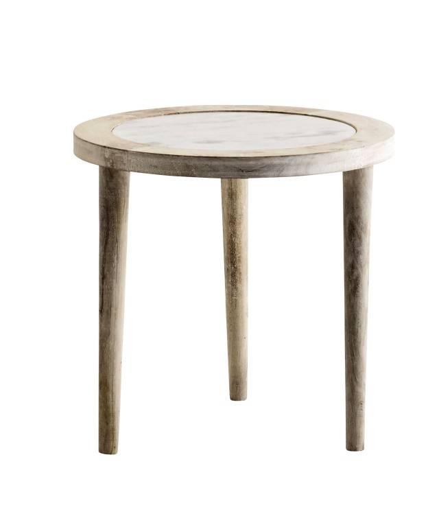 madam stoltz beistelltisch marmor stilherz. Black Bedroom Furniture Sets. Home Design Ideas