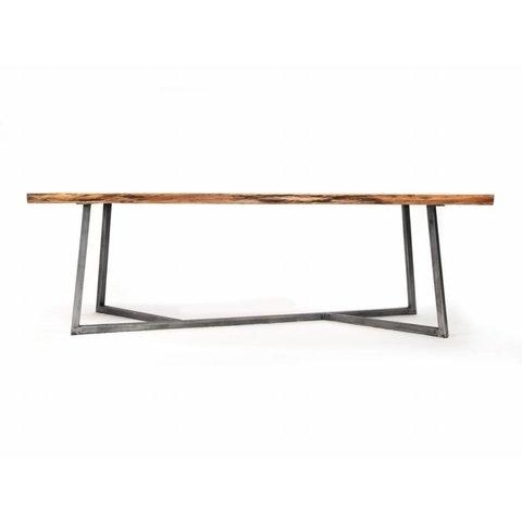 """Design-Esstisch """"Oak Steel Table"""" von NUTSANDWOODS"""