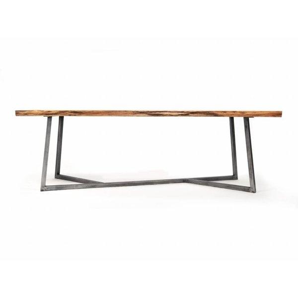 "NUTSANDWOODS Design-Esstisch ""Oak Steel Table"" von NUTSANDWOODS"