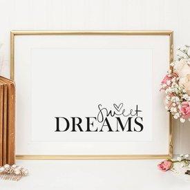"""Tales by Jen Poster """"Sweet Dreams"""" von Tales by Jen"""