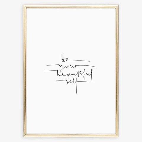 "Poster ""Beautiful Self"" von Tales by Jen"
