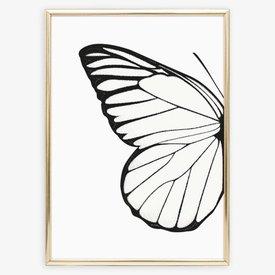 """Tales by Jen Poster """"Left Butterfly Wing"""" von Tales by Jen"""