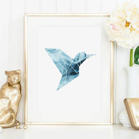 """Poster """"Kolibri"""" von Tales by Jen"""