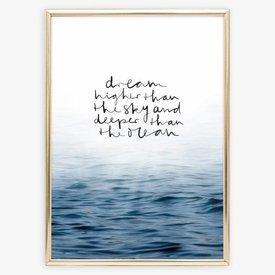 """Tales by Jen Poster """"Ocean"""" von Tales by Jen"""