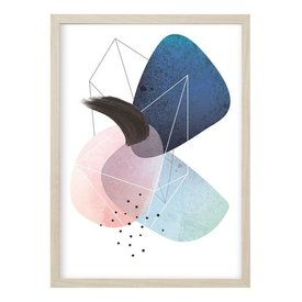 """Kruth Design Poster """"ABSTRACT NO. 1"""" von Kruth Design"""