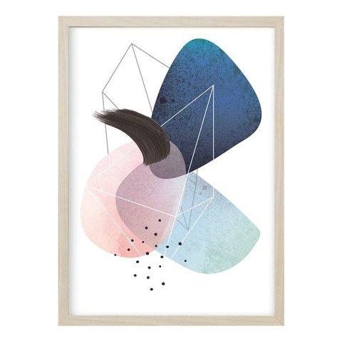 """Poster """"ABSTRACT NO. 1"""" von Kruth Design"""