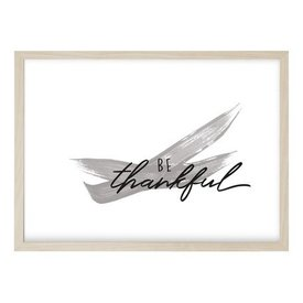"Kruth Design Poster ""THANKFUL"" von Kruth Design"