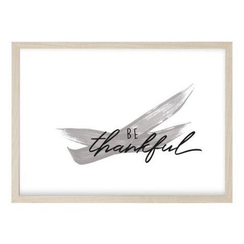 """Poster """"THANKFUL"""" von Kruth Design"""