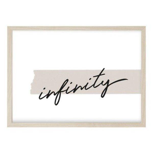 """Kruth Design Poster """"INFINITY"""" von Kruth Design"""
