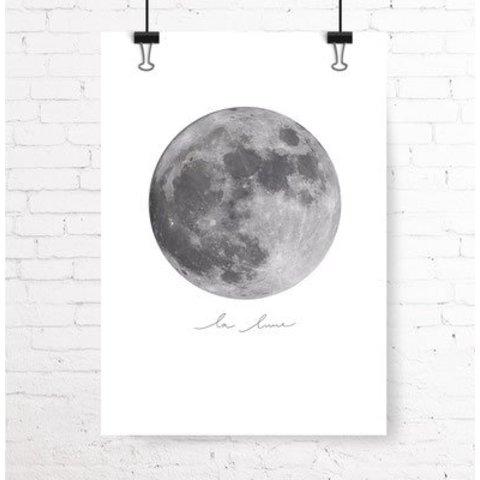 """Poster """"LA LUNE"""" von Kruth Design"""