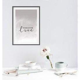 """Kruth Design Poster """"STAND UP"""" von Kruth Design"""