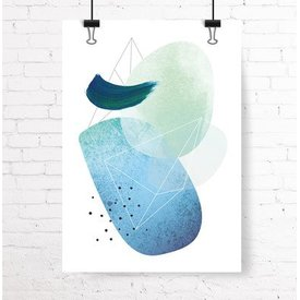 "Kruth Design Poster ""ABSTRACT NO. 2"" von Kruth Design"