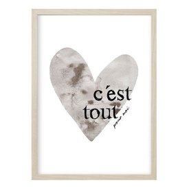 "Kruth Design Poster ""CES'T TOUT"" von Kruth Design"