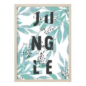 "Kruth Design Poster ""JUNGLE"" von Kruth Design"