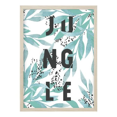 "Poster ""JUNGLE"" von Kruth Design"