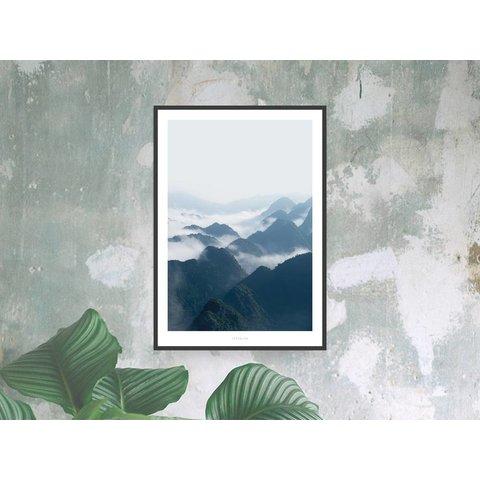 """Poster """"A Quiet Place No. 3"""" von typealive"""